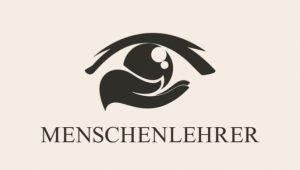 Menschenlehrer Logo, ein Auge